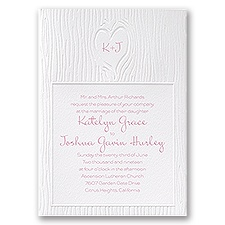Heartfelt Wedding Invitation