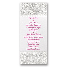Pure Whimsy Wedding Invitation