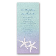 Mermaid Treasures Invitation - Ariel