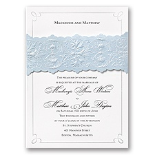 Disney Once Upon a Time Wedding Invitation Cinderella