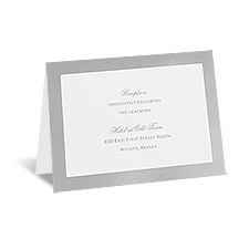 Pretty Layers - Reception Card