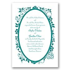 Charming Floral - Invitation