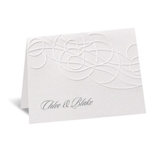 Disney - Icy Swirls Note Card - Elsa