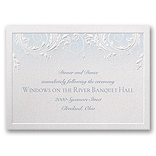 Disney - Classic Charm Reception Card