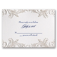 Disney - Golden Fairy Tale Response Card
