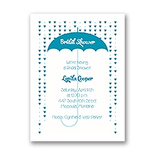 Heart Shower - Petite Bridal Shower Invitation