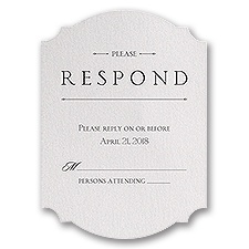 Sparkling Beauty - Response Card
