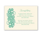 Lacy Details - Ecru - Accommodations Card