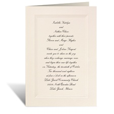 Prelude Wedding Invitation