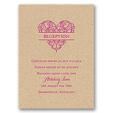 Full of Love - Kraft - Reception Card