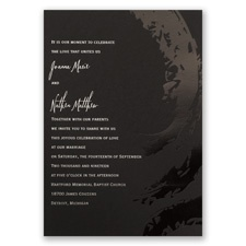 Bold & Refined Foil Wedding Invitation