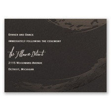 Bold & Refined - Foil Reception Card
