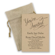 Beautifully Krafted Wedding Invitation