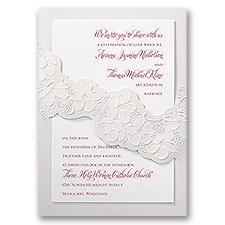 Disney Promising Blossoms Wedding Invitation Snow White