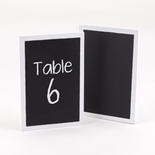 Chalkboard Table Cards