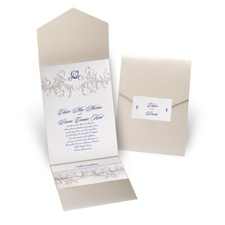 Disney - Golden Fairy Tale Invitation