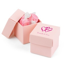 Pink Two-Piece Favor Boxes