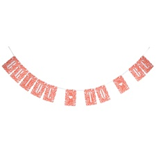Floral Bride to Be Banner
