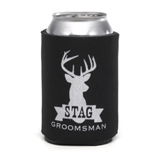 Stag Can Cooler - Groomsman