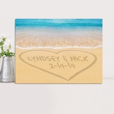 Caribbean Sea Keepsake Canvas