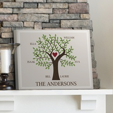 Family Tree Traditional Canvas Print