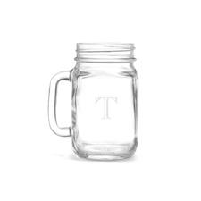 Drinking Jar - Initial