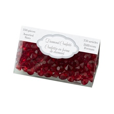 Red Diamond Confetti