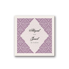Classic Romance - Ecru Cocktail Napkin