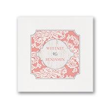 Lace Love - White Dinner Napkin