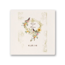 Vintage Birds - Ecru Dinner Napkin