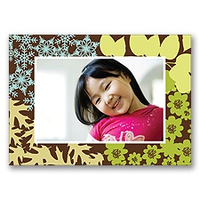 Contemporary Seasons Photo Note Card