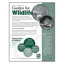 Attracting Wildlife Habitat Certification Applications