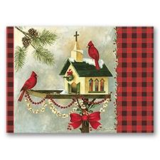 Christmas In the Garden Card