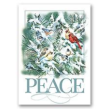 Winter Songbirds Card