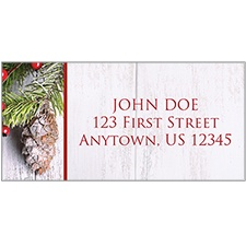 Holiday Swag Address Labels