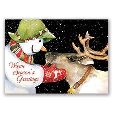 Reindeer Charmed Card
