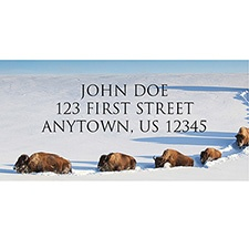 Bison Breaking Trail Address Labels