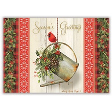 Garden Holiday Card