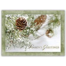 Frosty Pine Card
