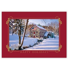 American Winter Card