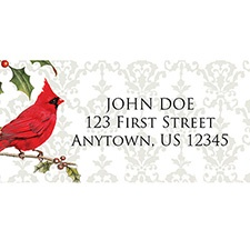 Christmas Greetings Address Labels