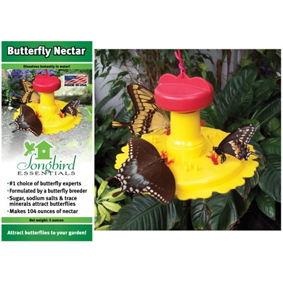 Butterfly Feeder with Nectar