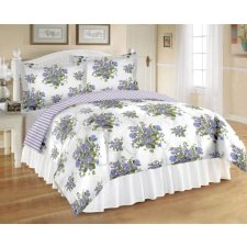 Purple Wildflowers Bedding Set