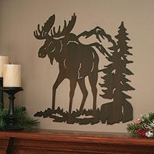 Moose Laser Cut Wall Art