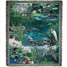 Wetlands Tapestry Throw