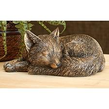 Sleepy Fox Statue