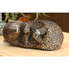 Sleepy Hedgehog Statue