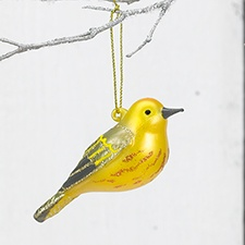 Yellow Warbler Ornament