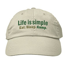 Life is Simple - Camp Cap