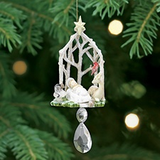 Glistening Nativity Ornament